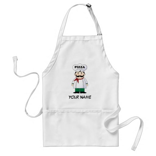Personalized Italian Pizza Chef Cooking Gift Aprons