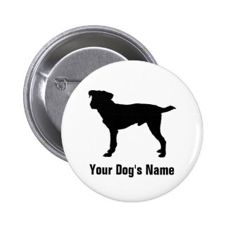 Personalized Jack Russell Terrier ジャック・ラッセル・テリア Pinback Button
