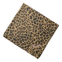 Personalized Jaguar Print Bandana