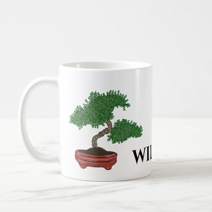 Personalized Japanese Bonsai Tree Coffee Mug Zazzle Com