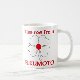 Personalized Japanese Kiss Me I'm Fukumoto Classic White Coffee Mug