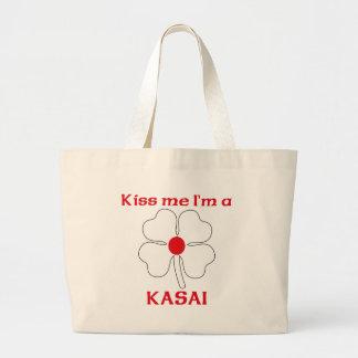 Personalized Japanese Kiss Me I'm Kasai Bag
