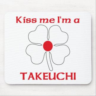 Personalized Japanese Kiss Me I'm Takeuchi Mouse Mat