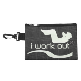 Personalized Jeans Texture Workout Bag