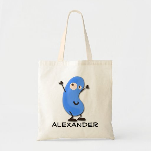 Personalized Jellybean Tote Bag