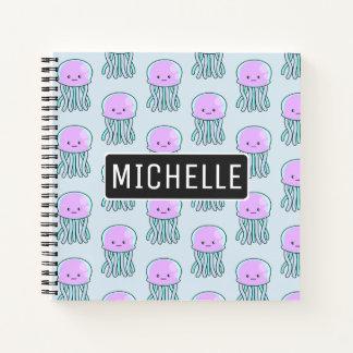 Personalized Jellyfish Notebook