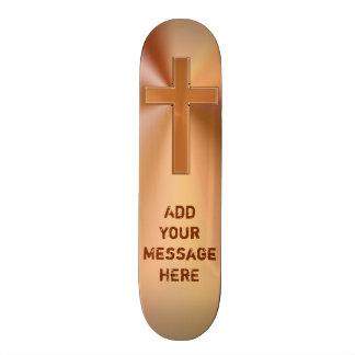 Personalized Jesus Skateboard Decks YOUR MESSAGE