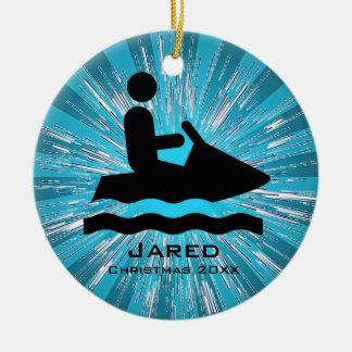 Personalized Jet Ski Ornament