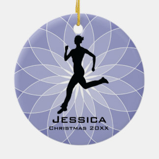 Personalized Jogger Runner Ornament