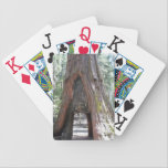 "Personalized Jumbo Index Playing Cards<br><div class=""desc"">Yosemite Bg Tree personalized jumbo index playing cards</div>"