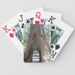 Personalized Jumbo Index Playing Cards<br><div class='desc'>Yosemite Bg Tree personalized jumbo index playing cards</div>