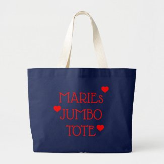 Personalized Jumbo Tote