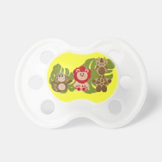 Personalized Jungle Babies Binky Custom Pacifier