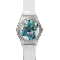 Personalized Jungle Creatures Giraffe Wrist Watch