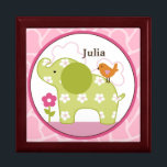 "Personalized Jungle Jill/Girl Animals Keepsake Box<br><div class=""desc"">Personalized &quot;Jungle Jill/Girl Animals&quot; Baby Keepsake Box. You&#39;re little one can keep his or her treasures in this adorable keepsake box.</div>"