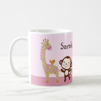 """Personalized """"Jungle Jill/Girl Animals"""" Mug"""