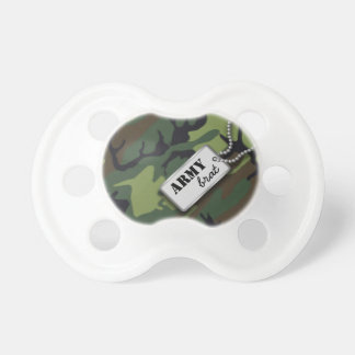 Personalized Jungle Military Camo Baby Pacifiers