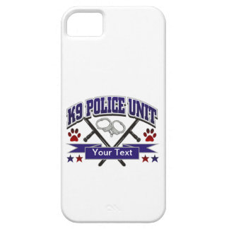 Personalized K9 Police Unit iPhone 5 Covers
