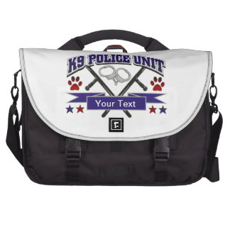 Personalized K9 Police Unit Bags For Laptop