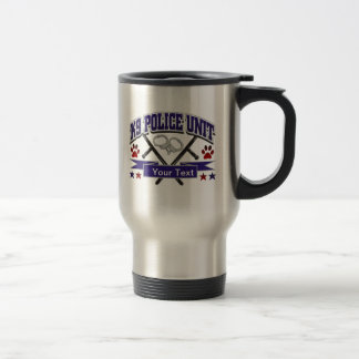 Personalized K9 Police Unit Travel Mug