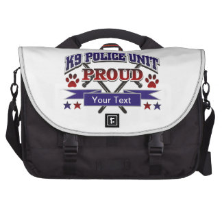 Personalized K9 Unit Proud Commuter Bags