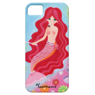 Personalized Kawaii Mermaid Dream painting iPhone 5 Cover