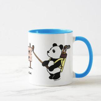 Personalized Kawaii Panda Golfer Mug