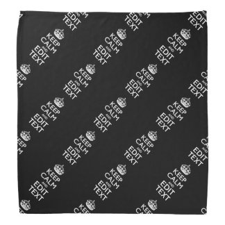 Personalized KEEP CALM AND Edit Text Bandana