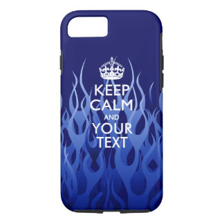 Personalized KEEP CALM AND Have Your Creative Text iPhone 8/7 Case