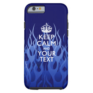 Personalized KEEP CALM AND Have Your Creative Text Tough iPhone 6 Case