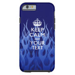 Personalized KEEP CALM AND Your Creative Text Tough iPhone 6 Case