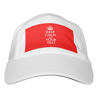 Personalized KEEP CALM AND Your Text Hat