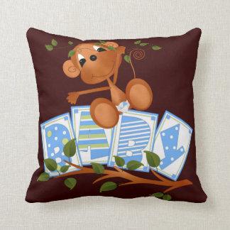 Personalized Keepsake Birth Boy 8  Pillow