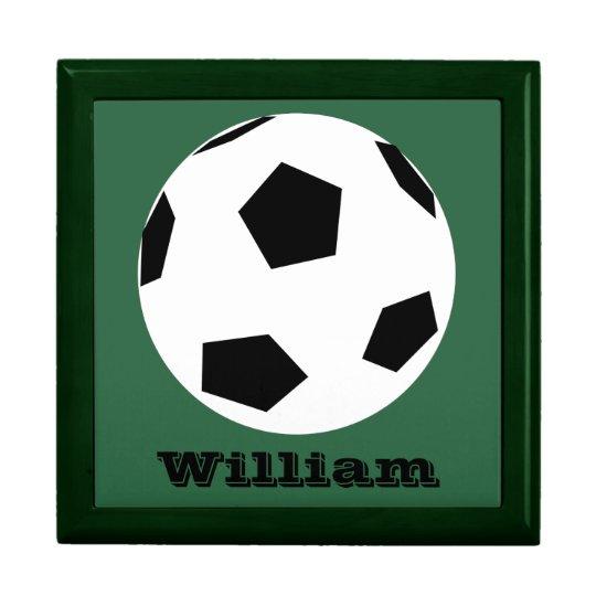 Personalized Keepsake Box - Soccer