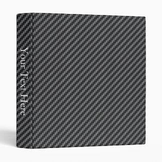 Personalized Kevlar Carbon Fiber 3 Ring Binder