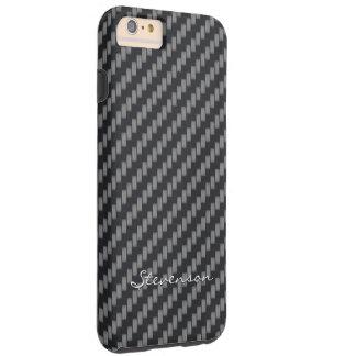 Personalized Kevlar Carbon Fiber Tough iPhone 6 Plus Case