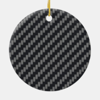 Personalized Kevlar Carbon Fiber Ornament