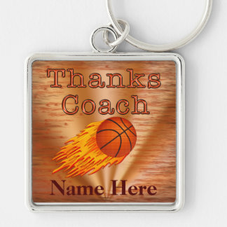 Personalized Keychains Basketball COACH Gift Ideas