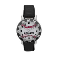 Personalized Kids Baseball Softball Watch