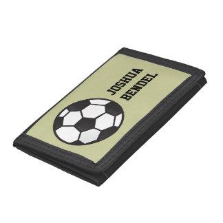 Personalized Kids Boys Soccer Wallet