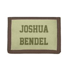 Personalized Kids Boys Wallet at Zazzle