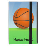 Personalized Kid's Sports Basketball Sunny Day Case For iPad Mini