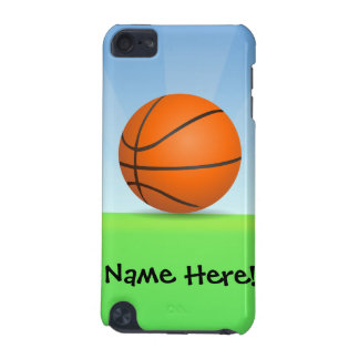 Personalized Kid's Sports Basketball Sunny Day iPod Touch (5th Generation) Cover