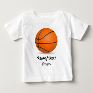 Personalized Kid's Sports Basketball Sunny Day T Shirt