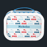 """Personalized Kids Train Lunchbox<br><div class=""""desc"""">Personalized Kids Train Lunchbox</div>"""