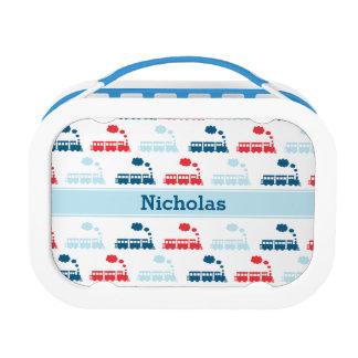Personalized Kids Train Lunchbox