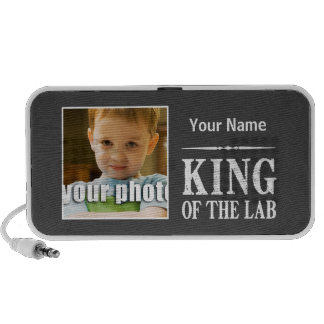 Personalized King of the Lab iPhone Speaker