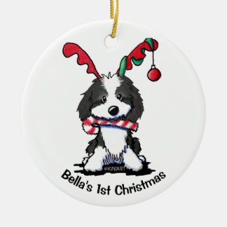Personalized KiniArt Dog Cockapoo Ornament