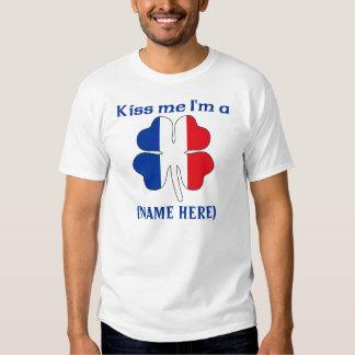 Personalized Kiss Me I'm French Tshirt