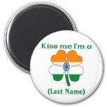 Personalized Kiss Me I'm Indian  Magnet